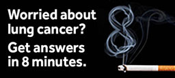 Eight minute lung cancer screening